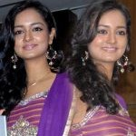Actress Shanvi at Lovely Triple Platinum Disc Function