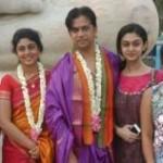 Arjun at Anjaneyar Temple Stills