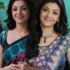 Kajal in Saree Cute Stills