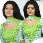 Sneha in Green Churidar Pics