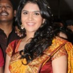 Deeksha Seth in Silk Saree Stills