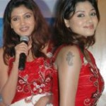 Actress Oviya at Marina Audio Release