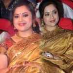 Actress Meena in Saree Stills