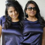 Jyothi Hot in Blue Dress