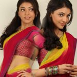 Kajal Agarwal in Half Saree Photo Shoot Stills