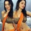 Tamanna Hot Wet Saree Pics