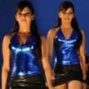 Samantha Hot Pics in Blue Dress