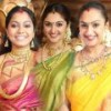 Stars at Sneha & Prasanna Wedding Function
