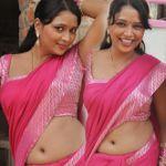 Jothisha Hot Saree Stills
