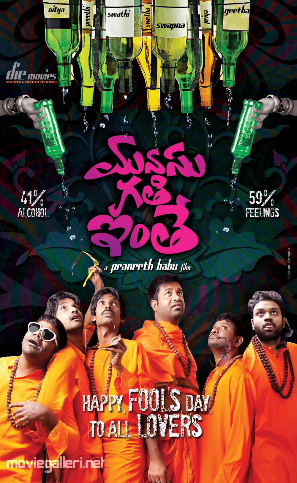 Manasu Gathi Inthe Movie Fools Day Poster