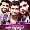 Santhanam, Jiiva, Vinay in Endrendrum Punnagai Movie First Look Posters