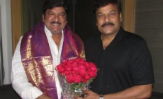MAA President Rajendra Prasad meet Chiranjeevi