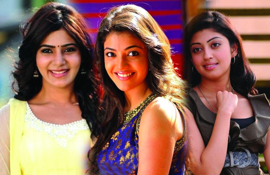 Mahesh Babu Brahmotsavam has three heroines Samantha, Kajal Agarwal & Pranitha