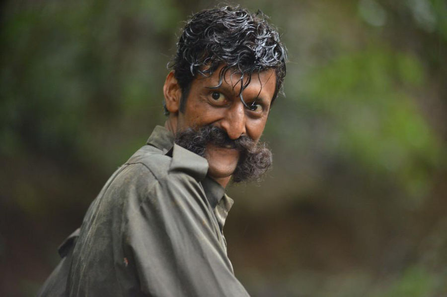 Sandeep Bharadwaj as Veerappan in RGV's 'Killing Veerappan'