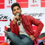 Allu Arjun launches Hero Xtreme Sports & Passion Pro