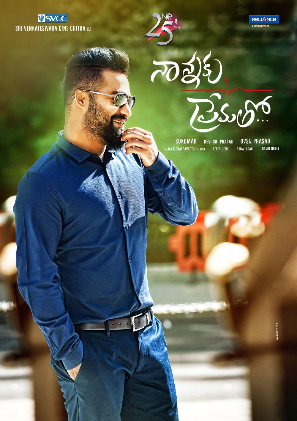 Jr NTR's Nannaku Prematho Movie First Look Poster