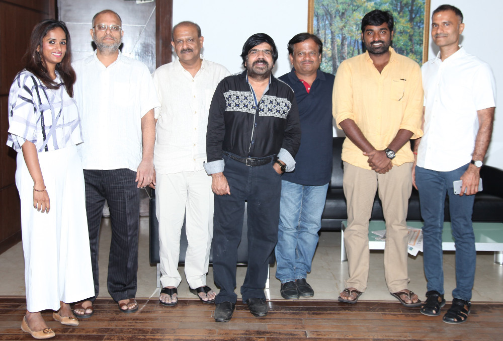KV Anand, Vijay Sethupathi and T Rajendar to join hands for AGS Entertainment