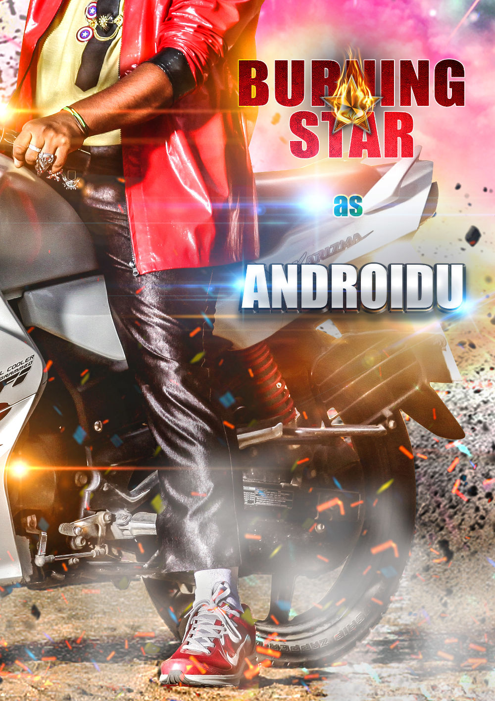 Sampoornesh Babu's Kobbari Matta Movie Androidu First Look Teaser Poster