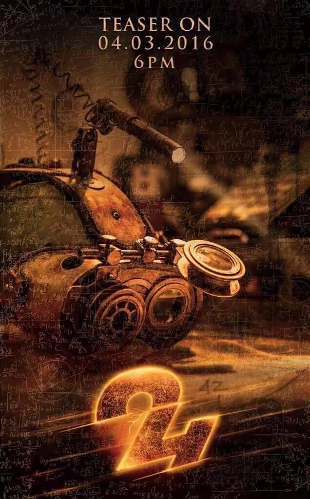 Suriya 24 Movie Teaser on March 4th