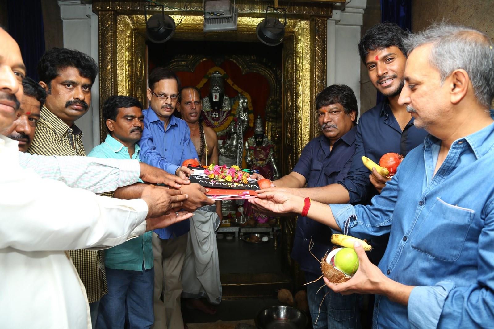 Sundeep Kishan - Krishna Vamsi's Nakshatram Film Launch1