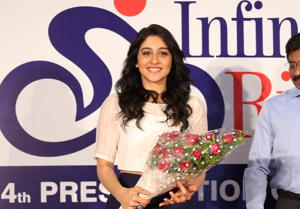 Shilpa Reddy and Regina Cassandra felicitates para-athletes of Aditya Mehta Foundation (AMF) at Inorbit Mall, Hyderabad
