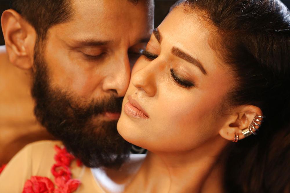 NKR films acquired Vikram Nayanthara Iru Mugan Telugu version Inkokkadu rights