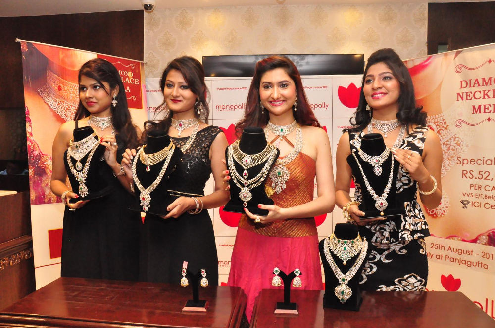 Harshada Patil launches Manepally Jewellers Exclusive Bridal Jewellery Collection, Hyderabad