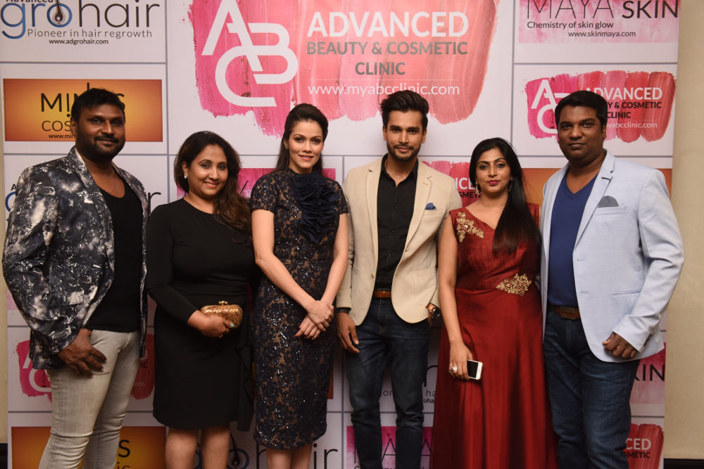 Rohit Khandelwal launched Advanced Beauty & Cosmetic Clinic at Adyar