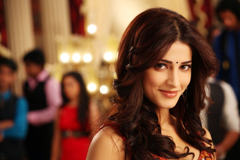 Shruti Haasan added in elements from her own closet to help Gautami and ensure the look really pops on screen