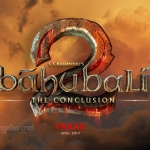 Baahubali 2 The Conclusion Movie Logo Wallpaper