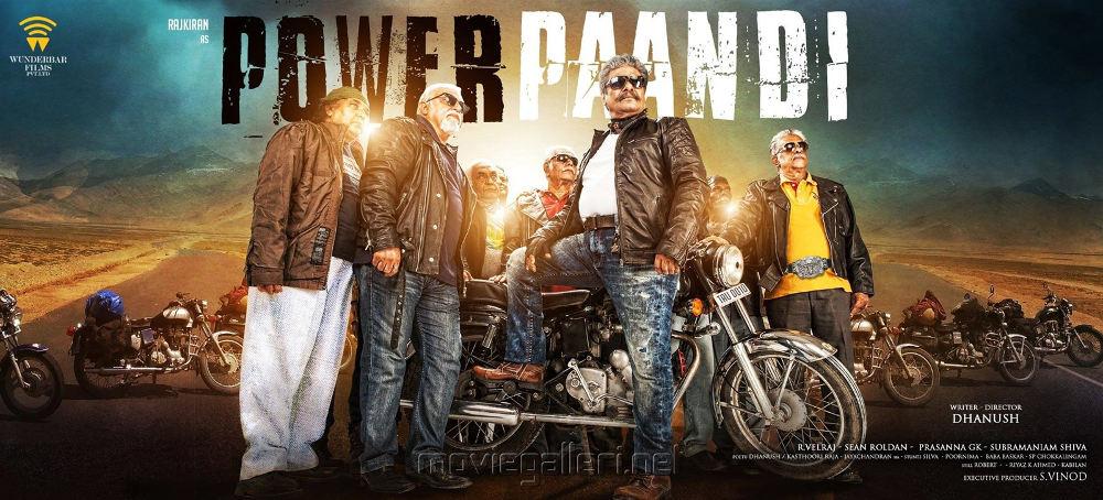 Director Dhanush's Power Paandi Movie with Raj Kiran
