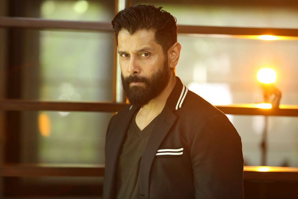 Actor Chiyaan Vikram in Don't Breathe Movie