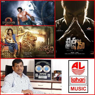 Lahari Music to release music of 'Khaidi No. 150', 'Gautamiputra Satakarni', 'Baahubali-2'