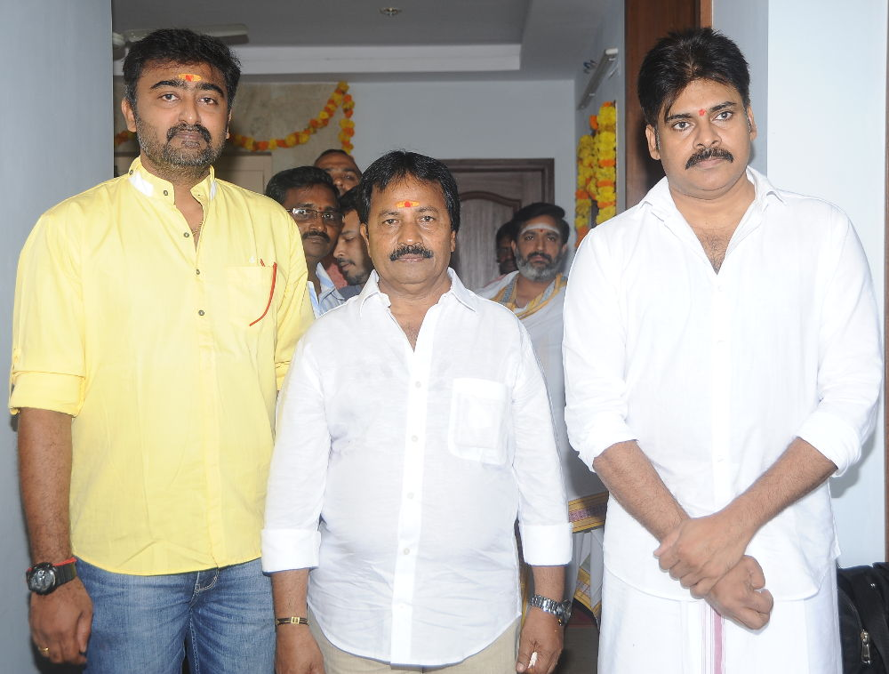 Pawan Kalyan, AM Ratnam, RT Neason Movie launch