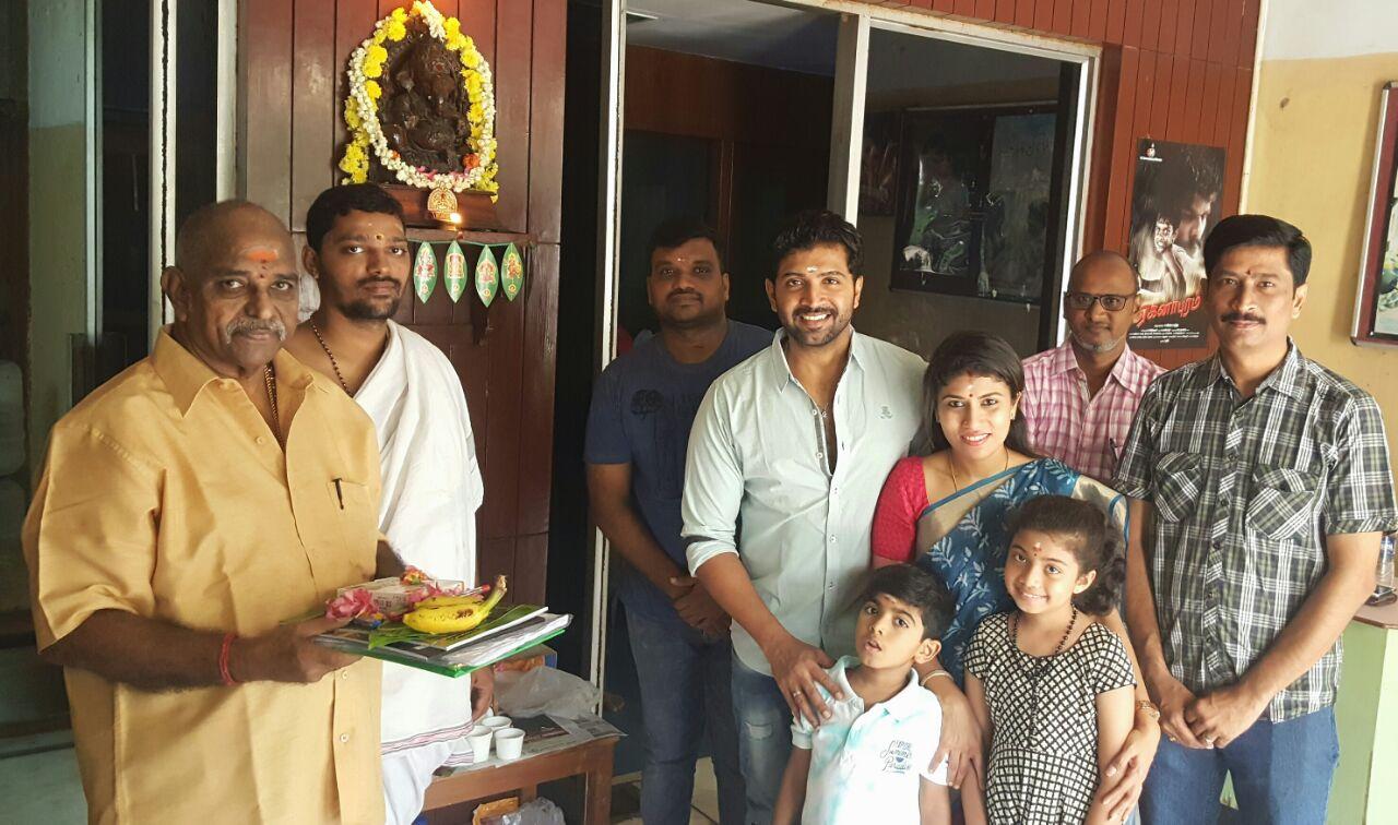 Telugu Dubbing started for Arun Vijay's 'Kuttram 23'