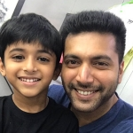 Jayam Ravi's son to act @ Tik Tik Tik