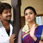 What genre is Vijay's song in Bairavaa?