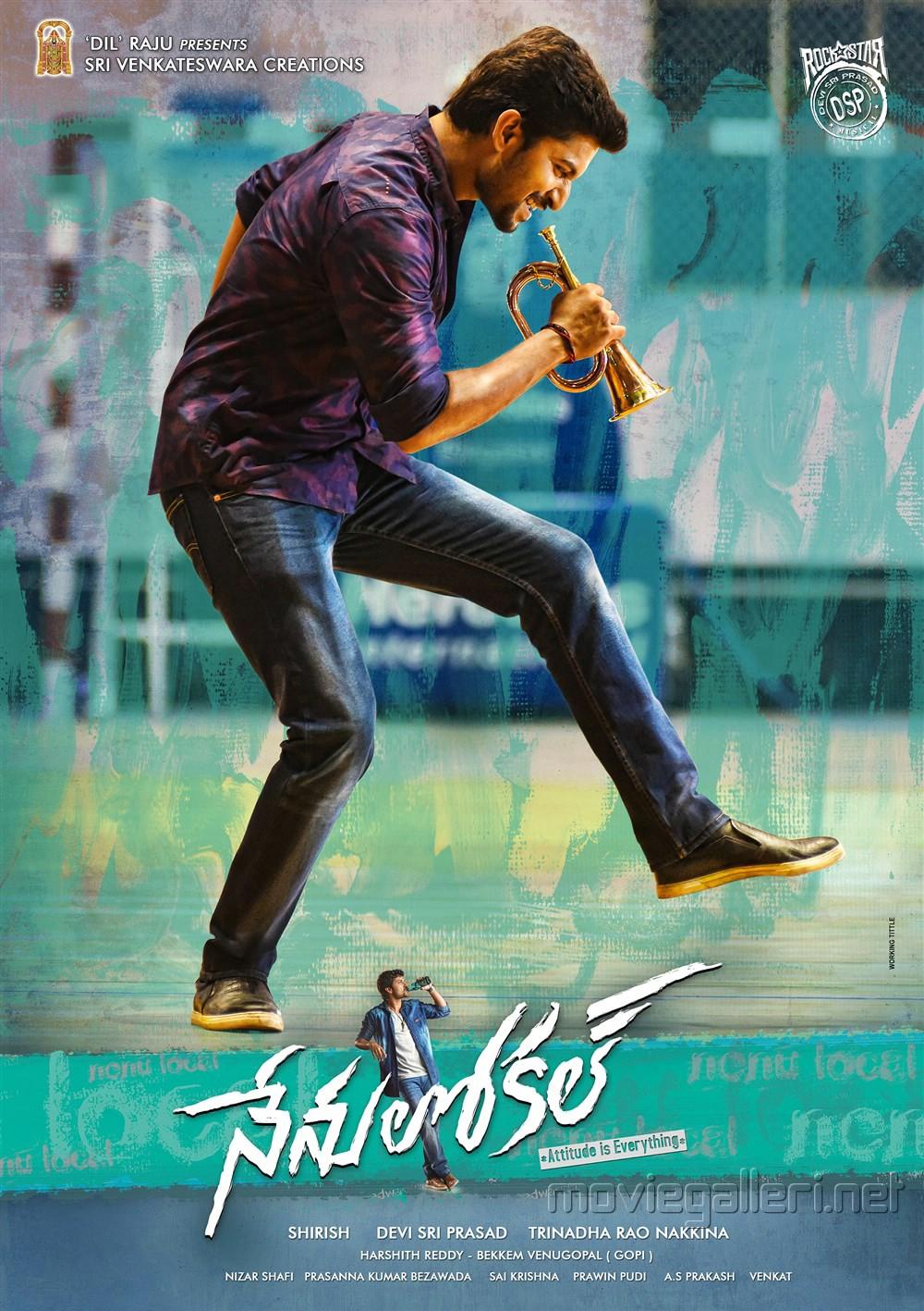 Actor Nani's Nenu Local Movie New Poster