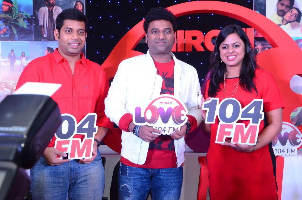 Devi Sri Prasad launches Mirchi Love 104 FM in Hyderabad