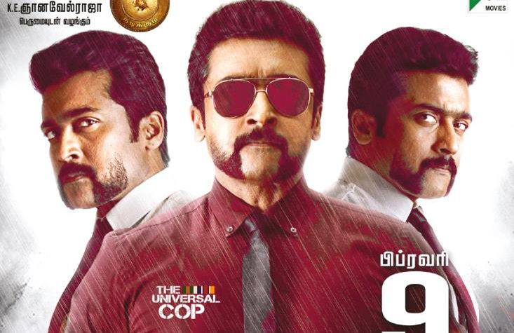 s3 movie review, si3 movie review, singam 3 movie review, suriya, anushka, shruti hassan, hari