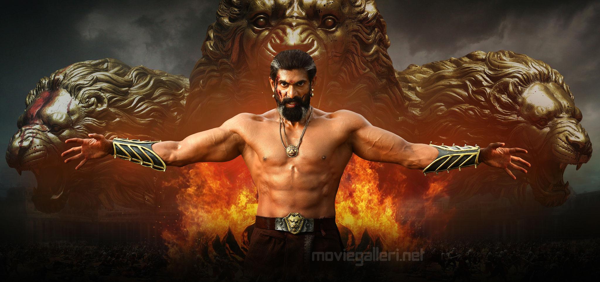 Rana As King Bhallaladeva In Baahubali 2