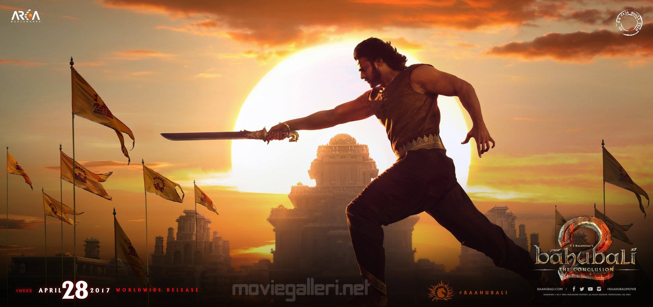 baahubali 2 prabhas new look wallpaper | new movie posters