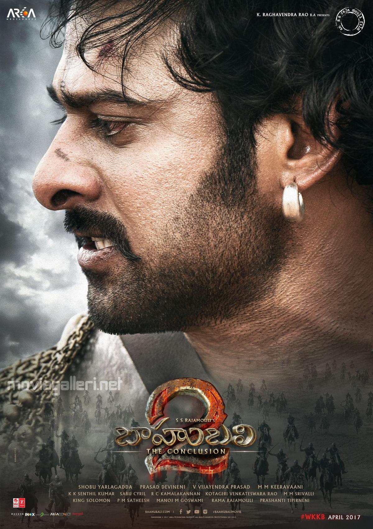 Prabhas Baahubali 2 Latest Poster New Movie Posters