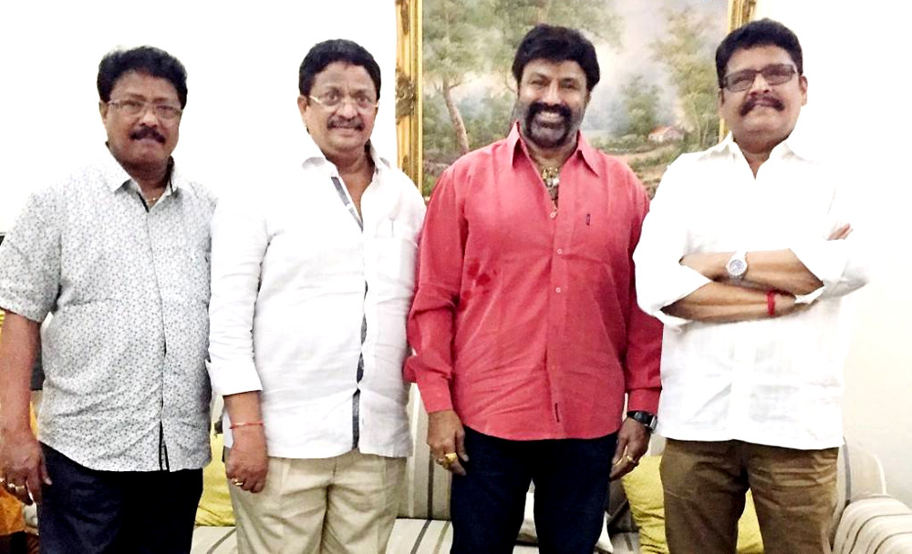 Balakrishna KS Ravikumar Movie Pooja @ July 10