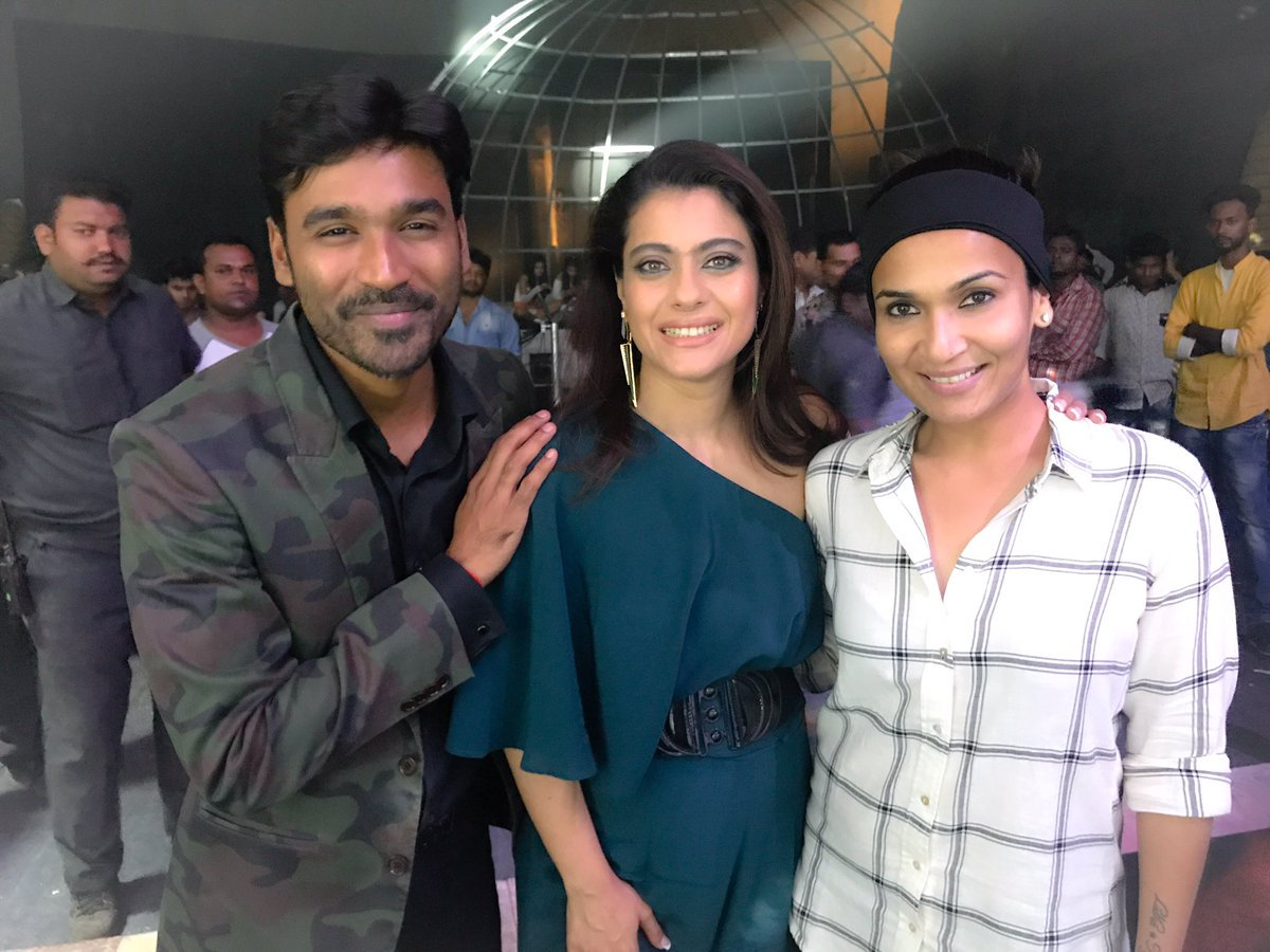 Dhanush Kajol Soundarya Rajni New trend with VIP-2