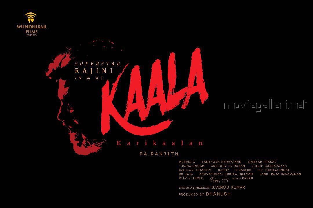 Rajinikanth 164 Movie Kaala Karikaalan Movie First Look Posters