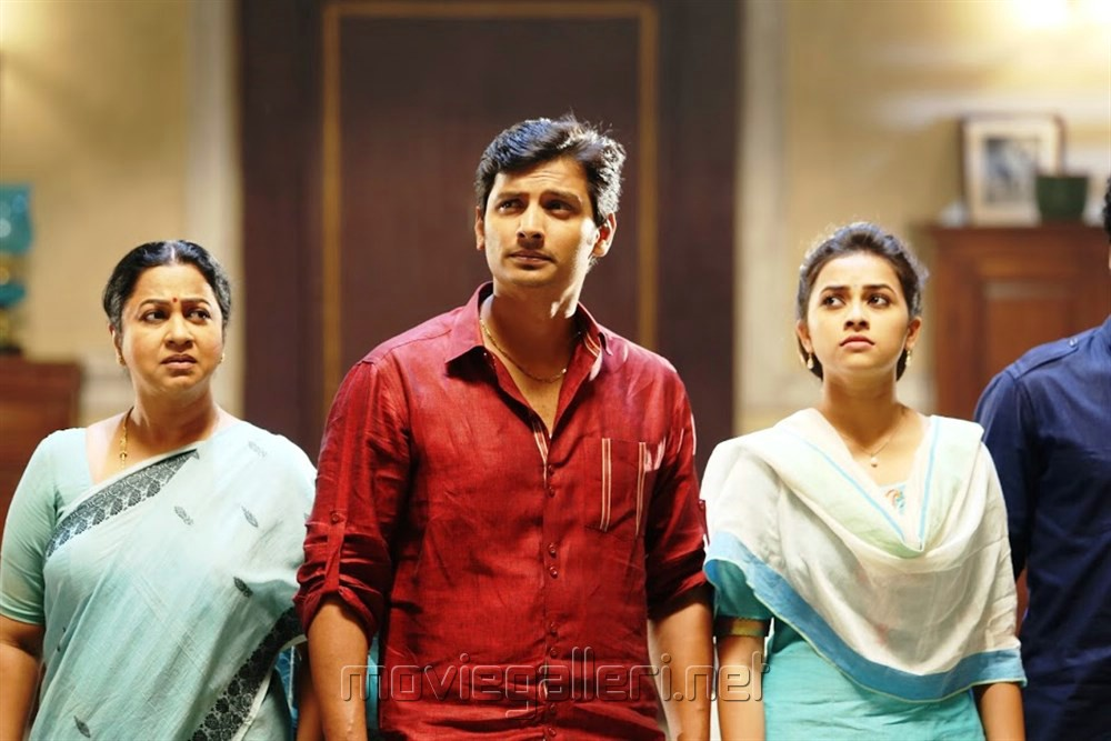 Radhika, Jeeva, Sridivya in Sangili Bungili Kadhava Thorae Movie Stills