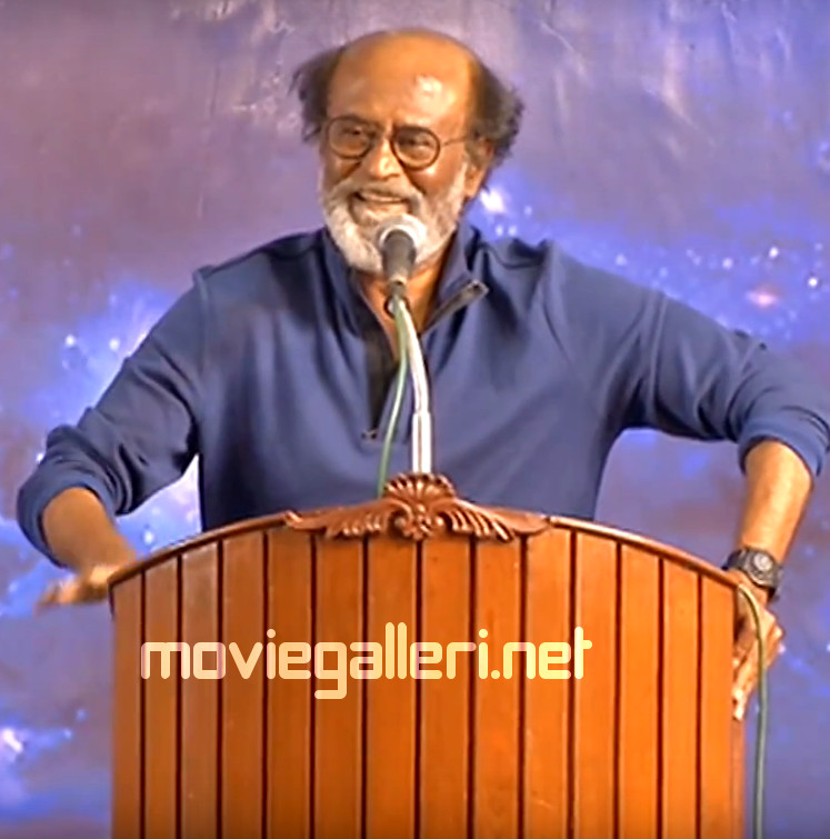 Superstar Rajinikanth's Speech at Last Day Fans meeting
