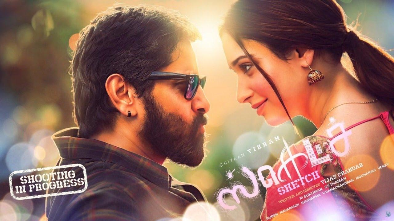 Vikram Tamannaah Sketch Movie Images