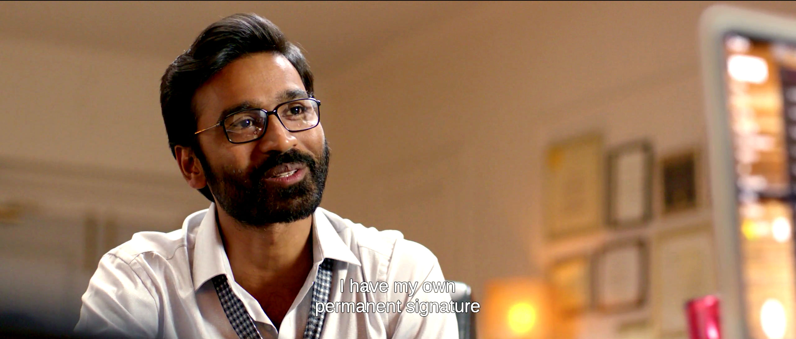 Actor Dhanush in VIP 2 Movie IMages